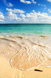 Tropisch strand Royalty-vrije Stock Foto's