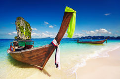 Tropisch strand, Andaman Overzees, Thailand Royalty-vrije Stock Foto