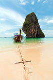 Tropisch strand, Andaman Overzees, Thailand Stock Afbeelding