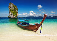 Tropisch strand, Andaman Overzees, Thailand Royalty-vrije Stock Foto's