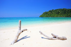 Tropisch strand, Andaman-Overzeese koh Rok Royalty-vrije Stock Foto