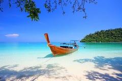 Tropisch strand, Andaman-Overzeese koh Rok Royalty-vrije Stock Afbeelding