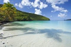 Tropisch strand in de Caraïben Stock Fotografie