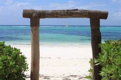 Tropisch strand - Langkawi Royalty-vrije Stock Foto's
