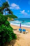 Tropisch Strand in Phuket Royalty-vrije Stock Fotografie