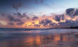Tropisch strand, Sri Lanka Stock Afbeelding