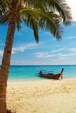 Tropisch strand, Thailand Royalty-vrije Stock Afbeelding