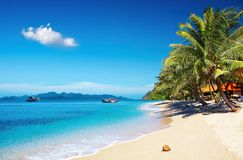 Tropisch strand, Thailand royalty-vrije stock fotografie