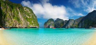 Tropisch strand, Thailand Stock Afbeeldingen