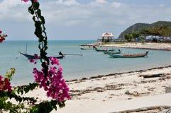 Tropisch Strand in Thailand Stock Fotografie