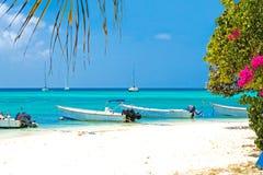 Tropisch strand, Venezuela royalty-vrije stock afbeelding