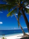 Tropisch strandparadijs royalty-vrije stock fotografie