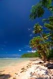 Tropisch strandparadijs royalty-vrije stock foto