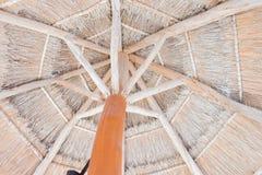 Tropisch Straw Hut Stock Afbeelding