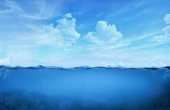 Tropisch Water royalty-vrije stock afbeelding