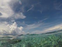 Tropisch Water stock afbeelding