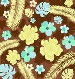 Tropische achtergrond Royalty-vrije Stock Fotografie