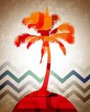 Tropische Achtergrond Stock Afbeeldingen