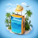 Tropische achtergrond Stock Fotografie