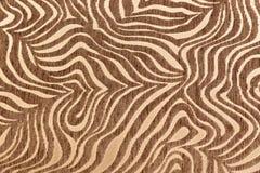 Tropische Afrikaanse bonttextuur Exotische achtergrond Beige Bruine Achtergrond Patroon, aardachtergrond, stammenornament royalty-vrije stock afbeeldingen