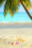 Tropische aloha royalty-vrije stock foto