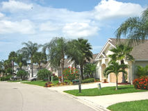 Tropische amerikanische Straße 4 Lizenzfreies Stockfoto