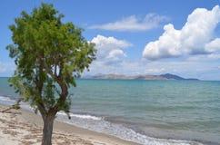 Tropische Ansicht in Griechenland Stockfotos