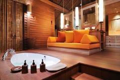 Tropische badkamers Royalty-vrije Stock Fotografie