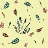 Tropische Blätter Lizenzfreie Stockfotografie