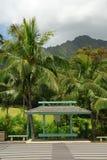 Tropische bushalte royalty-vrije stock afbeeldingen