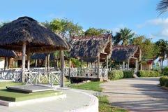 Tropische Cabana Hutten Stock Fotografie