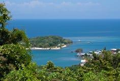 Tropische Caraïbische Blauw 1 stock afbeeldingen