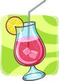 Tropische cocktail in glas Stock Afbeelding