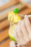Tropische cocktaildrank Stock Afbeelding