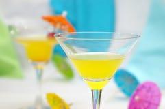 Tropische Cocktails Royalty-vrije Stock Afbeeldingen