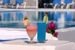 Tropische dranken Stock Foto