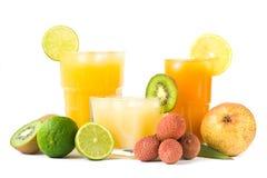 Tropische dranken stock foto's