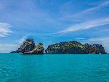 Tropische eilanden, Koh Ang Thong stock fotografie