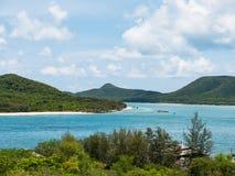 Tropische eilanden in Thailand Stock Afbeelding
