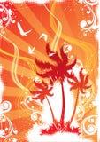 Tropische eilandillustratie Royalty-vrije Illustratie