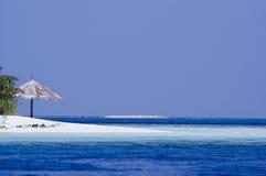 Tropische eilandlagune Royalty-vrije Stock Foto's