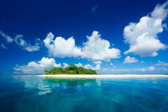 Tropische eilandvakantie parad royalty-vrije stock afbeelding