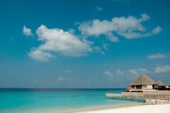 Tropische eilandwaterkant Stock Foto