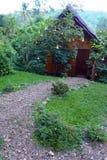 Tropische Erholungsorthütte, eco Tourismus Lizenzfreies Stockbild
