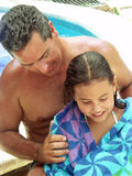 Tropische Familie. Lizenzfreies Stockfoto