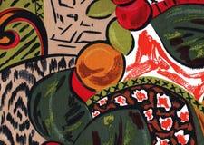 Tropische Farbabstrakter Hintergrund. stockfoto