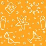 Tropische Ferien - nahtloses Muster Entwerfer Evgeniy Kotelevskiy vektor abbildung
