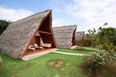 Tropische Ferienhäuser Lizenzfreies Stockbild