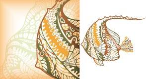 Tropische Fische stock abbildung