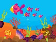 Tropische Fische vektor abbildung